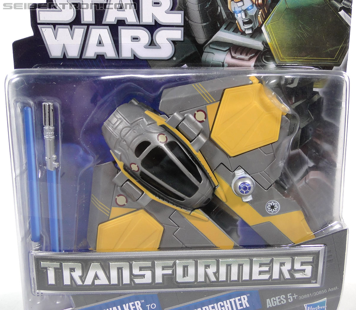 Star Wars Transformers Anakin Skywalker (Jedi Starfighter) (Image #3 of 95)