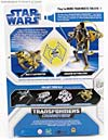 Star Wars Transformers Anakin Skywalker (Jedi Starfighter with Hyperspace Docking Ring) - Image #7 of 131