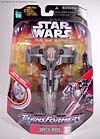 Star Wars Transformers Darth Maul (Sith Infiltrator) - Image #1 of 73