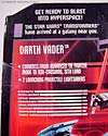 Star Wars Transformers Darth Vader (TIE Advanced) - Image #17 of 133