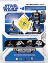 Star Wars Transformers Emperor Palpatine (Imperial Shuttle) black repaint - Image #7 of 146