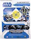 Star Wars Transformers Kit Fisto (Jedi Starfighter) - Image #7 of 104