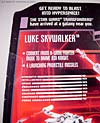 Star Wars Transformers Luke Skywalker (X-Wing Fighter) - Image #17 of 101