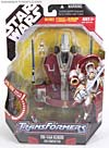 Star Wars Transformers Obi-Wan Kenobi (Jedi Starfighter with Hyperspace Docking Ring) - Image #1 of 149