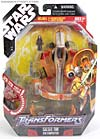 Star Wars Transformers Saesee Tiin (Jedi Starfighter) - Image #1 of 126