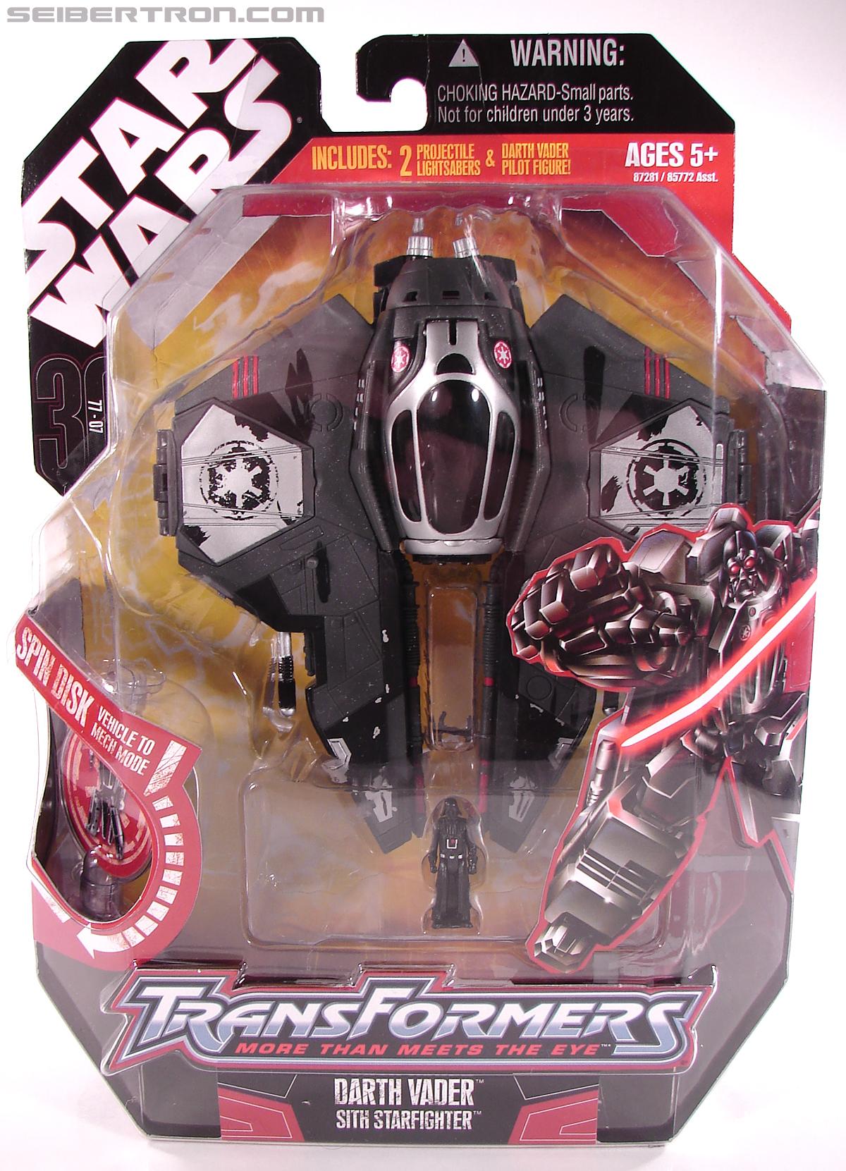Star Wars Transformers Darth Vader (Sith Starfighter) (Image #1 of 138)