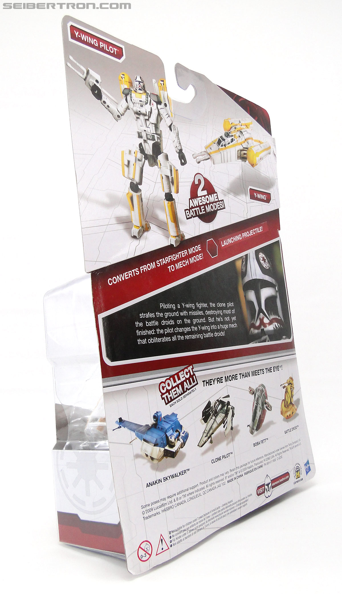Star Wars Transformers Y-Wing Pilot (Y-Wing) (Image #10 of 84)