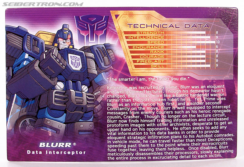 Transformers Convention & Club Exclusives Blurr (Image #42 of 85)