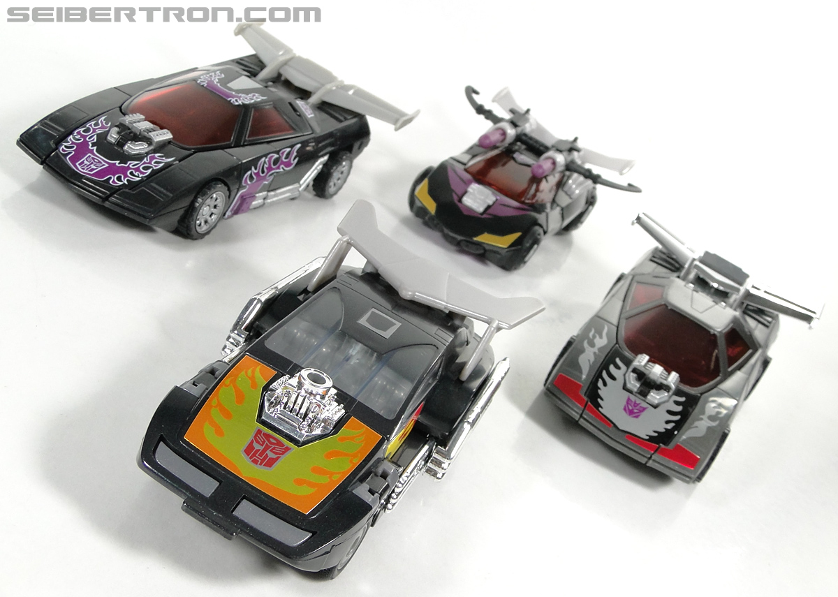 Transformers Convention & Club Exclusives Dark Hot Rod (Black Hot Rodimus)  (Reissue) (Image #76 of 153)