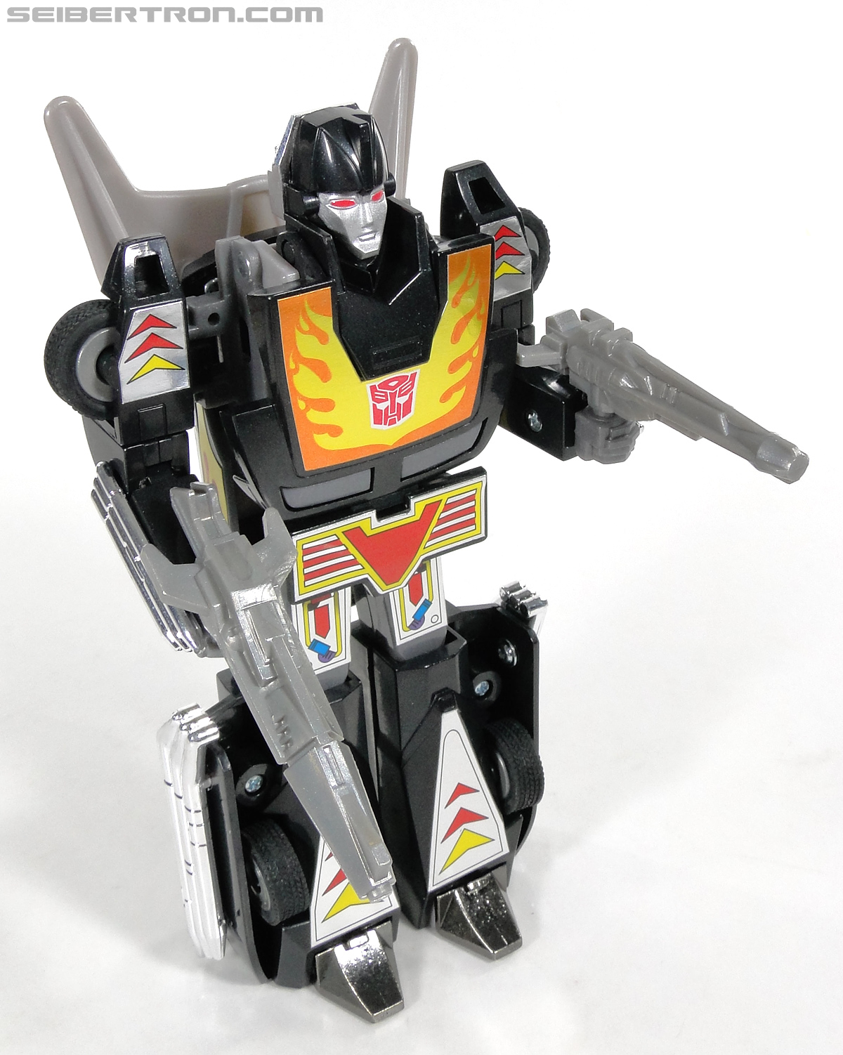 Transformers Convention & Club Exclusives Dark Hot Rod (Black Hot Rodimus)  (Reissue) (Image #116 of 153)