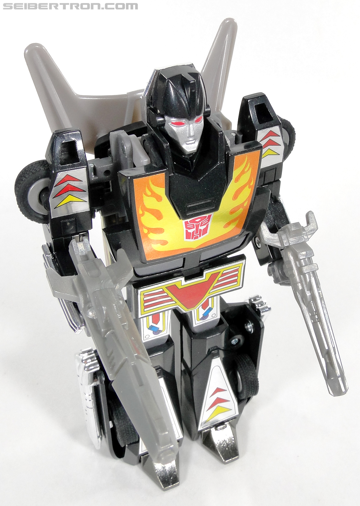 Transformers Convention & Club Exclusives Dark Hot Rod (Black Hot Rodimus)  (Reissue) (Image #124 of 153)
