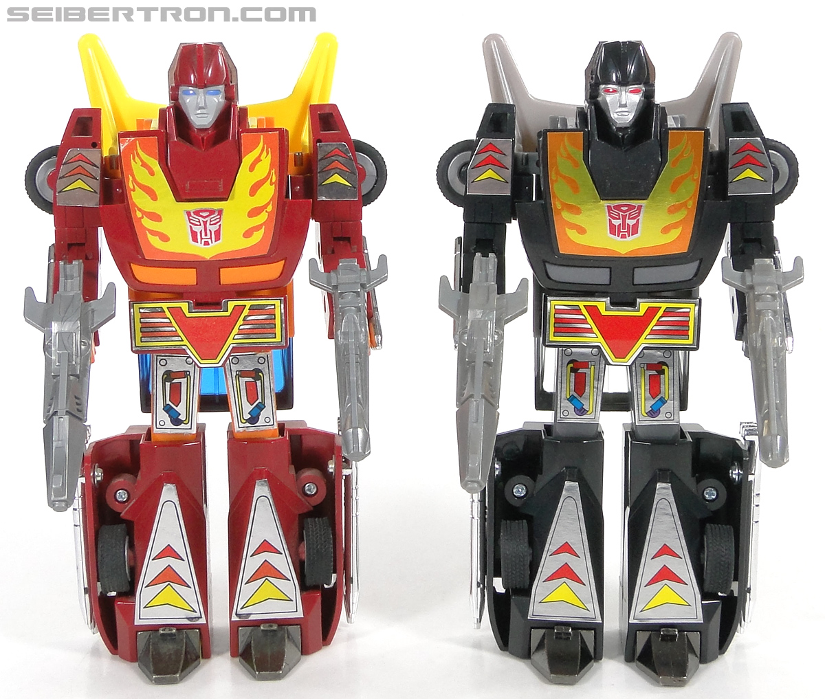 Transformers Convention & Club Exclusives Dark Hot Rod (Black Hot Rodimus)  (Reissue) (Image #126 of 153)