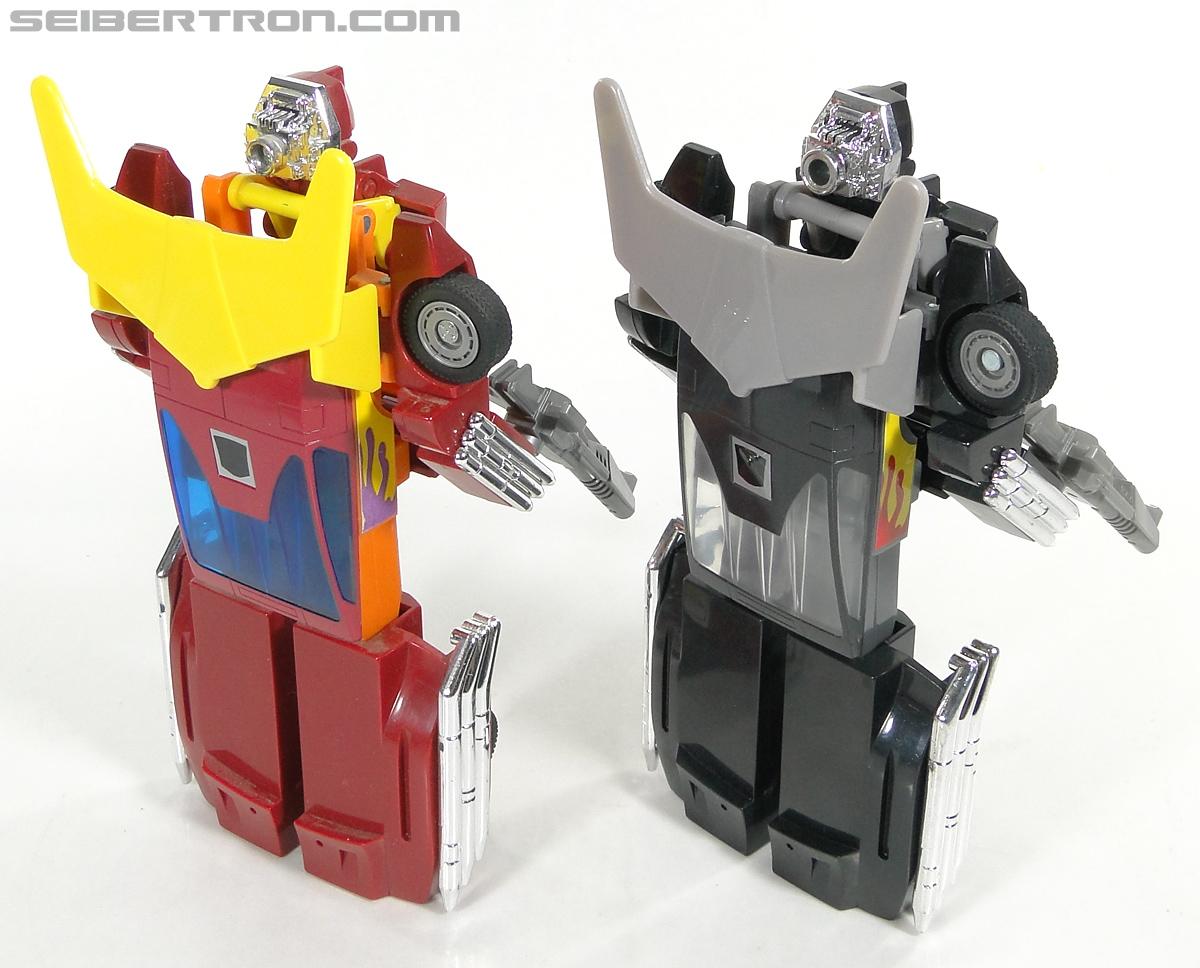 Transformers Convention & Club Exclusives Dark Hot Rod (Black Hot Rodimus)  (Reissue) (Image #131 of 153)