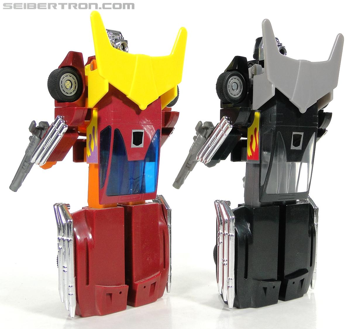 Transformers Convention & Club Exclusives Dark Hot Rod (Black Hot Rodimus)  (Reissue) (Image #133 of 153)
