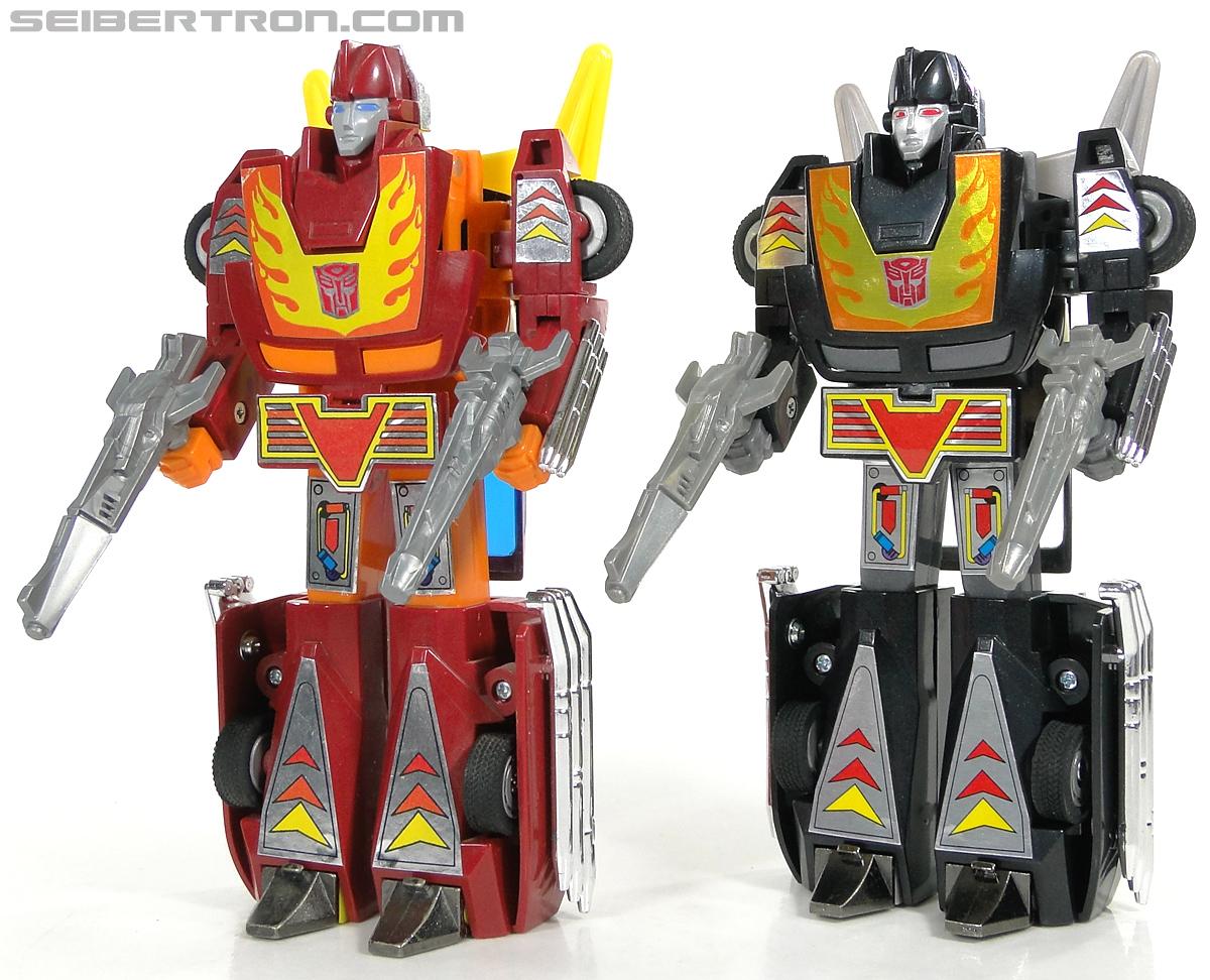 Transformers Convention & Club Exclusives Dark Hot Rod (Black Hot Rodimus)  (Reissue) (Image #135 of 153)