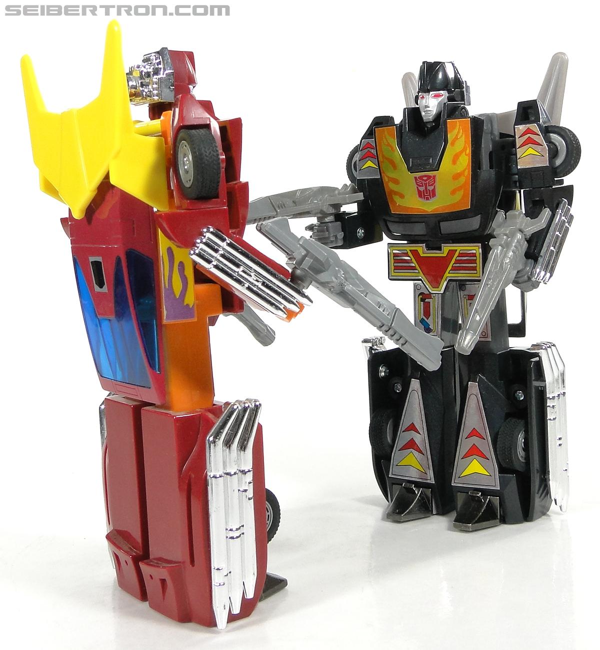 Transformers Convention & Club Exclusives Dark Hot Rod (Black Hot Rodimus)  (Reissue) (Image #139 of 153)