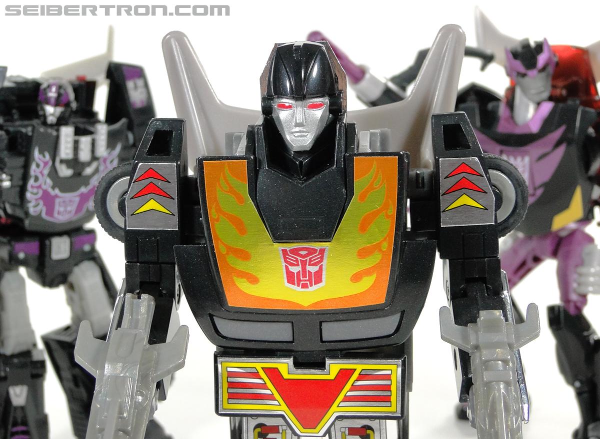 Transformers Convention & Club Exclusives Dark Hot Rod (Black Hot Rodimus)  (Reissue) (Image #146 of 153)