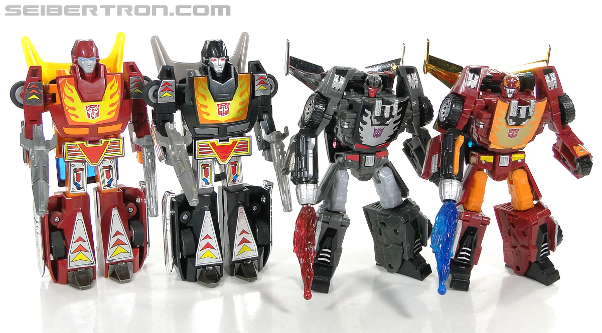 Transformers Convention & Club Exclusives Dark Hot Rod (Black Hot Rodimus)  (Reissue) (Image #151 of 153)