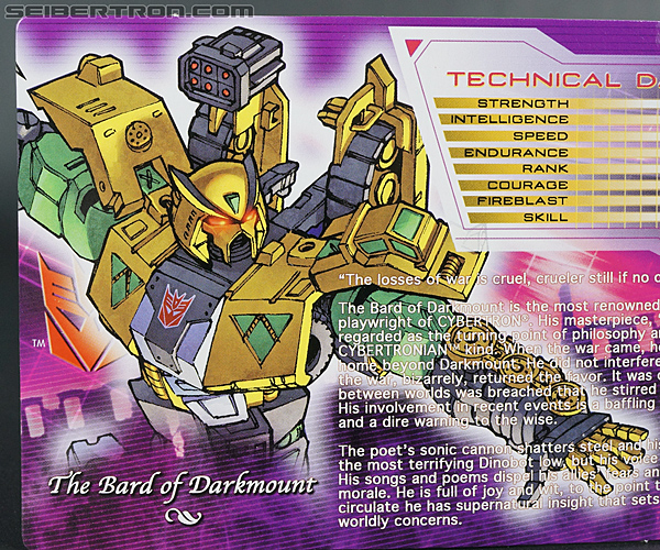 Transformers Convention & Club Exclusives The Bard of Darkmount (Shattered Glass Straxus) (Image #5 of 150)