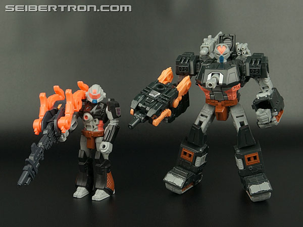 Transformers News: New Galleries: Club Subscription Exclusive Treadshot with Catgut and United Warpath