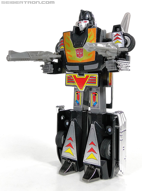 Transformers Convention & Club Exclusives Dark Hot Rod (Black Hot Rodimus)  (Reissue) (Image #123 of 153)