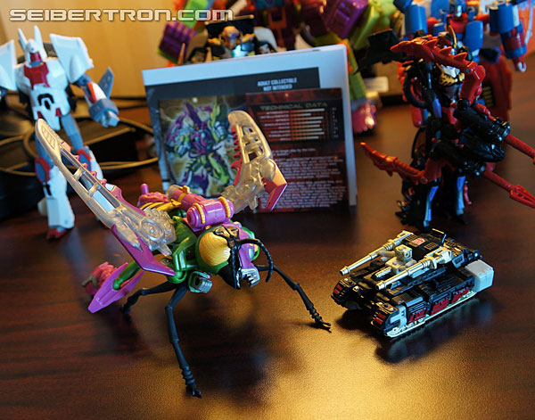 Transformers News: New Galleries and Video: Club Subscription Service Thrustinator and Rewind