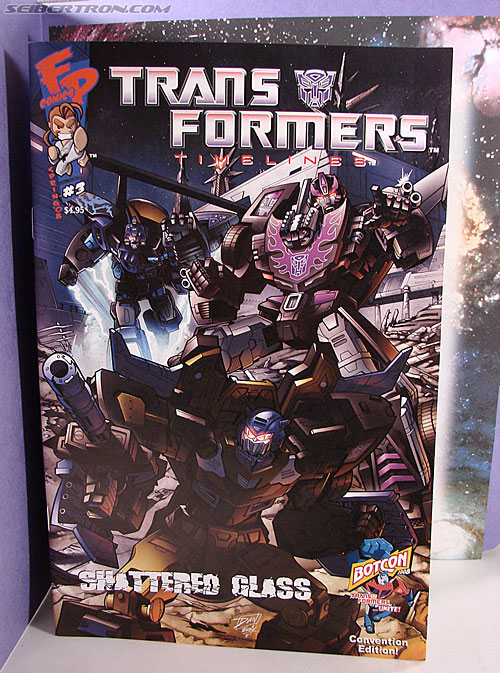 Transformers Convention & Club Exclusives Optimus Prime (Shattered Glass) (Image #33 of 116)