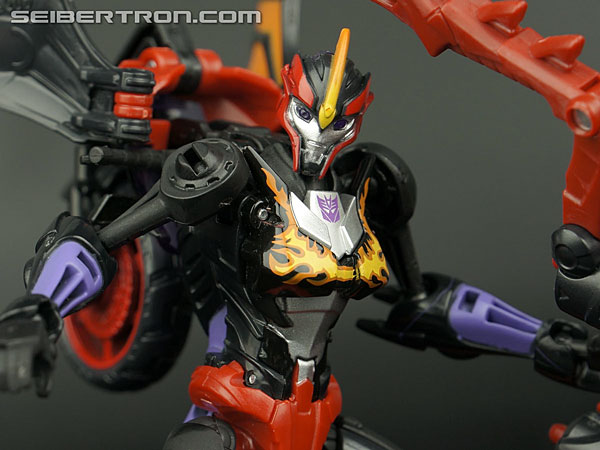 Transformers News: New Galleries: BotCon 2014 Flamewar and Transformers Prime Cyberverse Flamewar