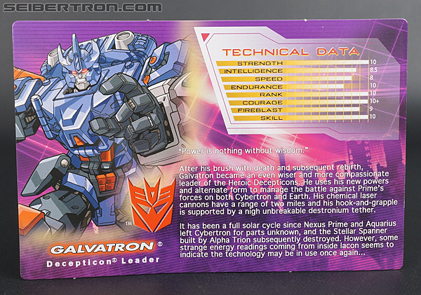 Transformers Convention & Club Exclusives Galvatron (Shattered Glass) (Image #1 of 164)