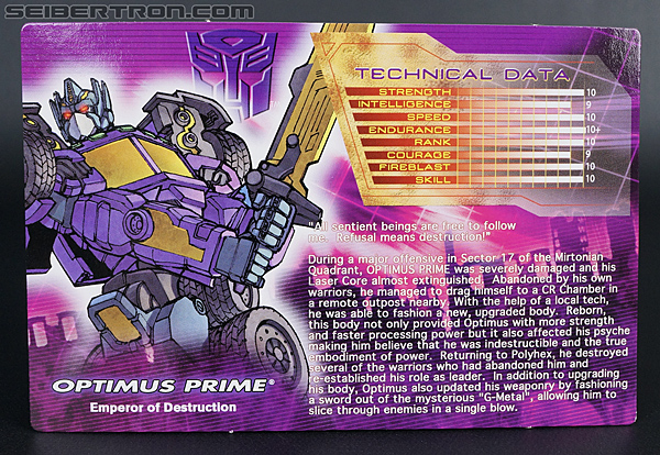 Transformers Convention & Club Exclusives Optimus Prime (Shattered Glass) (Image #3 of 166)