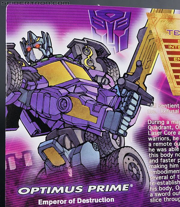 Transformers Convention & Club Exclusives Optimus Prime (Shattered Glass) (Image #4 of 166)