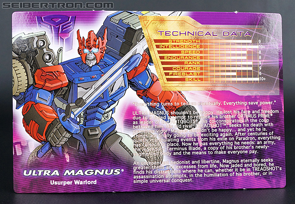 Transformers Convention & Club Exclusives Ultra Magnus (Shattered Glass) (Image #8 of 142)