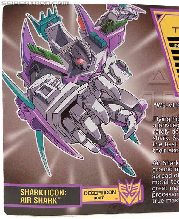 Transformers Convention & Club Exclusives Sharkticon: Air Shark (Image #2 of 134)