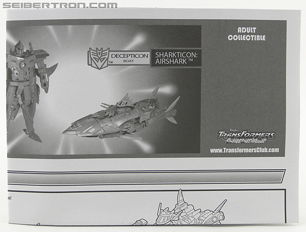 Transformers Convention & Club Exclusives Sharkticon: Air Shark (Image #5 of 134)