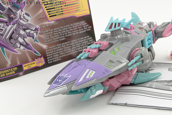 Transformers Convention & Club Exclusives Sharkticon: Air Shark (Image #7 of 134)