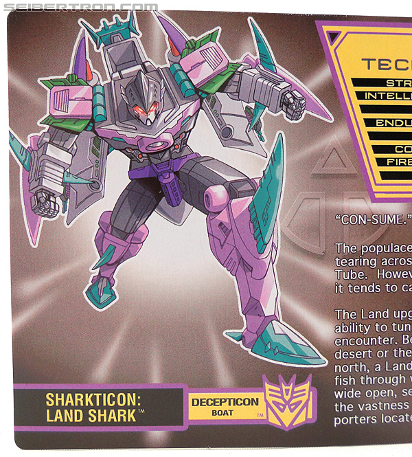 Transformers Convention & Club Exclusives Sharkticon: Land Shark (Image #2 of 157)