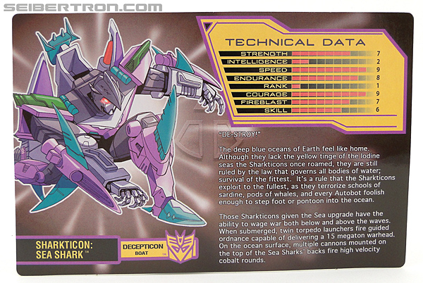 Transformers Convention & Club Exclusives Sharkticon: Sea Shark (Image #3 of 136)