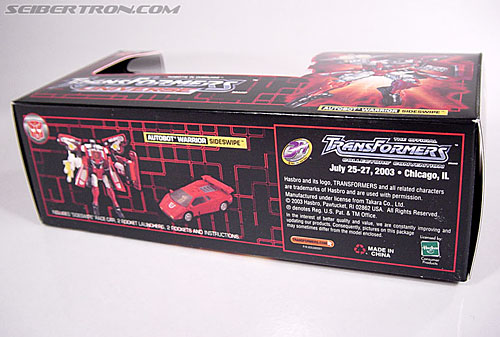 Transformers Convention & Club Exclusives Sideswipe (Image #5 of 53)