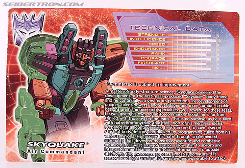 Transformers Convention & Club Exclusives Skyquake (Image #2 of 108)