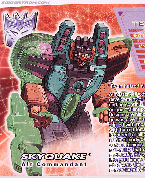 Transformers Convention & Club Exclusives Skyquake (Image #3 of 108)