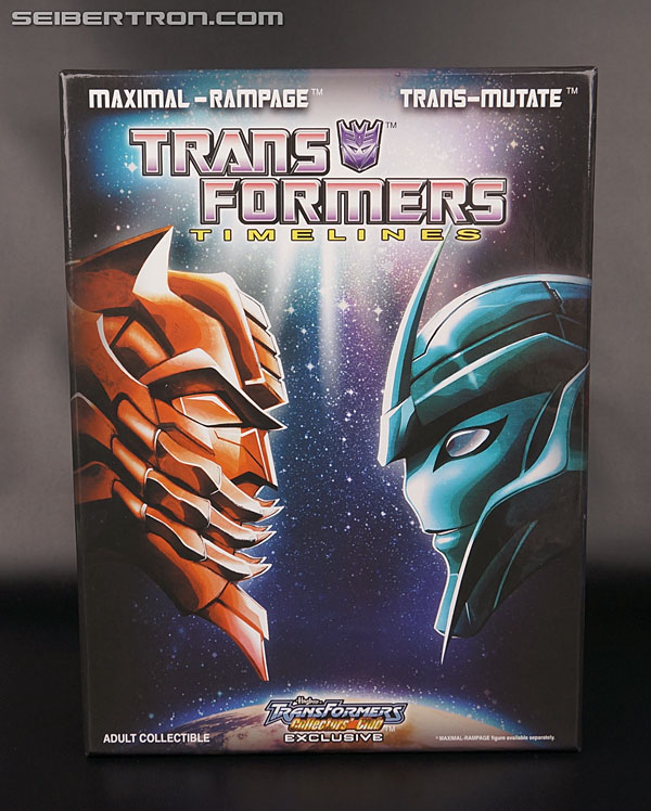Transformers News: New Gallery: Transformers Collectors' Club Timelines Transmutate