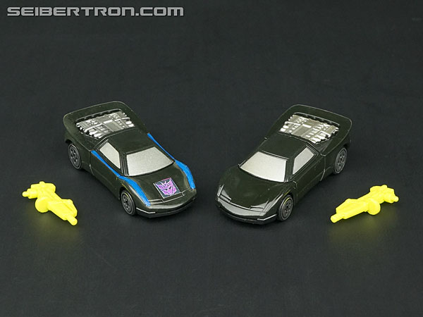 Transformers News: New Galleries: Club Subscription Service 3.0 Nightracer with Shakar and BotCon 1995 Nightracer