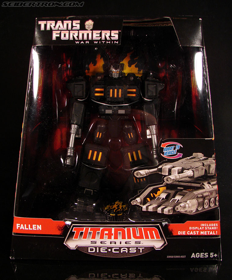 Transformers Titanium Series The Fallen (Image #1 of 106)