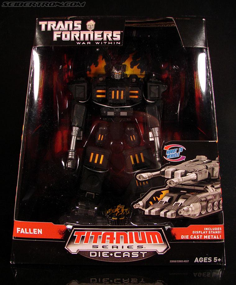 Transformers Titanium Series The Fallen (Image #1 of 106)