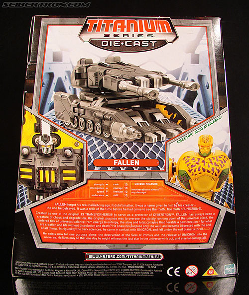 Transformers Titanium Series The Fallen (Image #8 of 106)