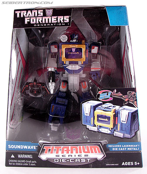 Transformers Titanium Series Soundwave (Image #1 of 99)