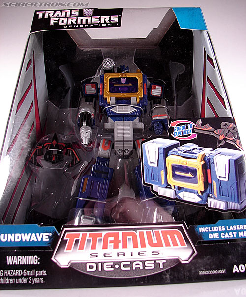Transformers Titanium Series Soundwave (Image #2 of 99)
