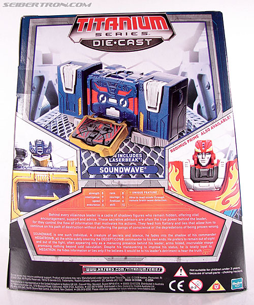 Transformers Titanium Series Soundwave (Image #6 of 99)