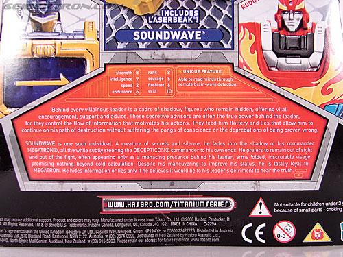 Transformers Titanium Series Soundwave (Image #7 of 99)