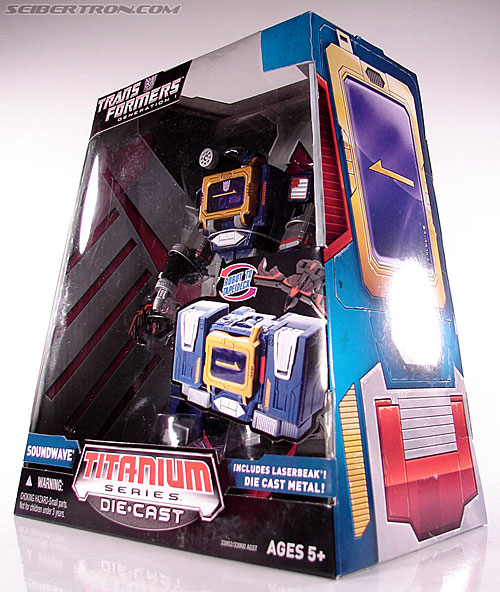 Transformers Titanium Series Soundwave (Image #9 of 99)